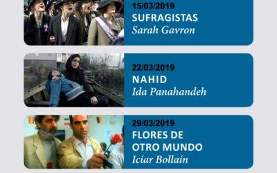 Homenaje al universo femenino en el cine-club de marzo 2019 en la Fundación Cajasol
