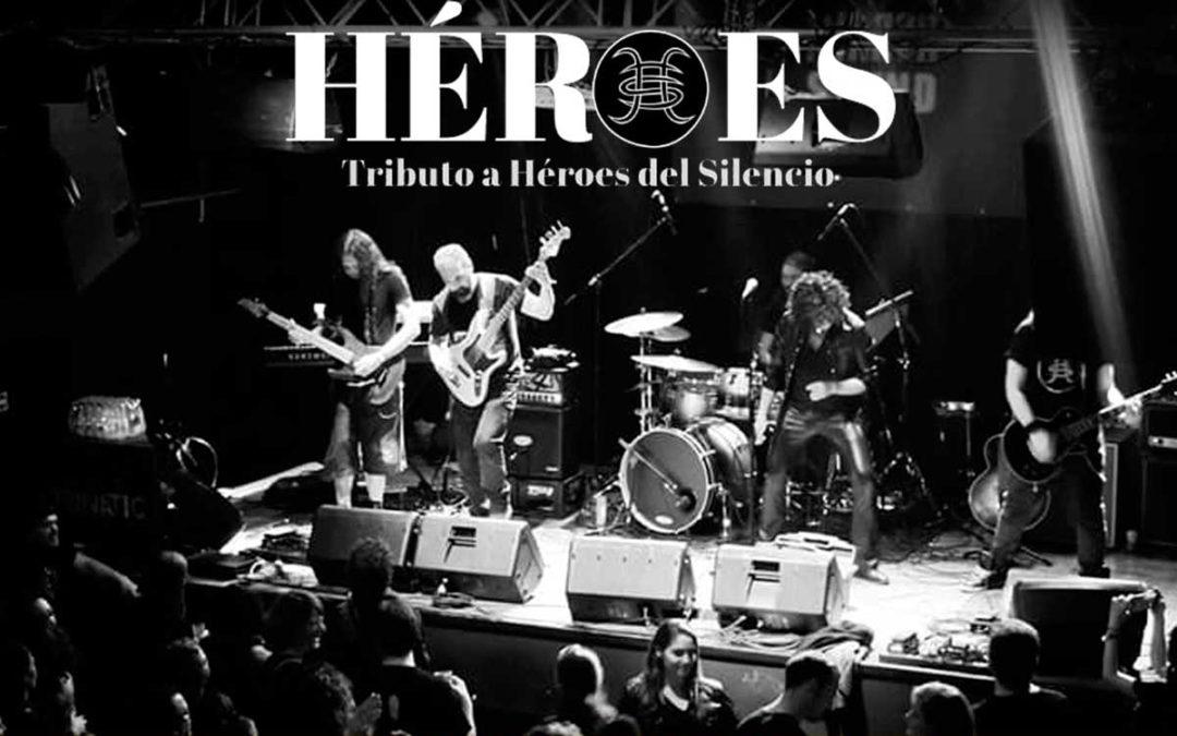 Tributo a Héroes del Silencio en los Jueves en la Cuarta de la Fundación Cajasol en Hueva