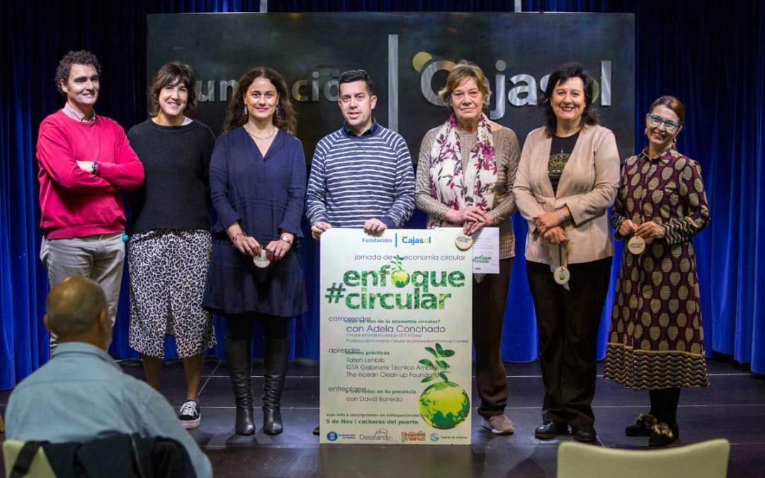 Entrega de premios del I Concurso #EnfoqueCircular en Huelva
