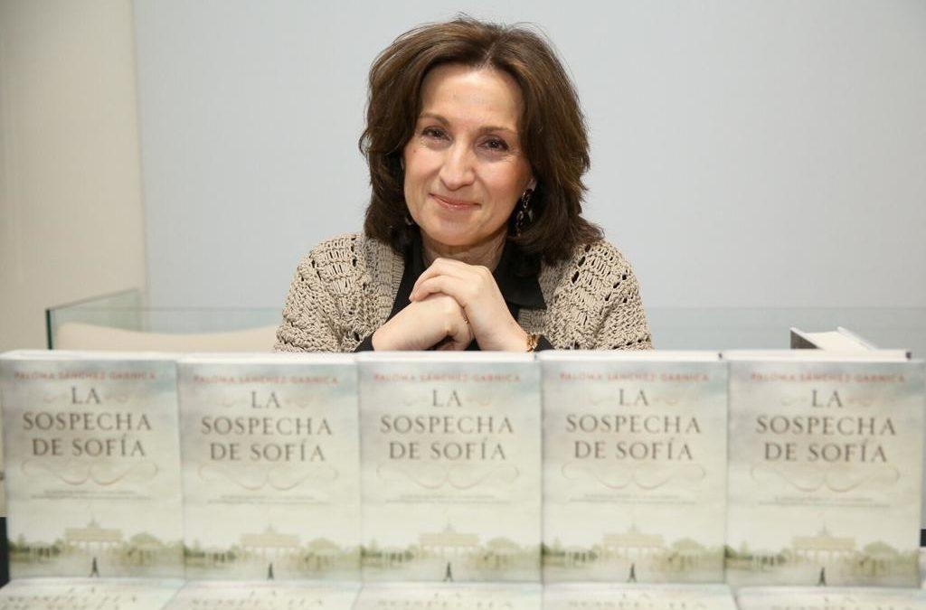 Paloma Sánchez-Garnica, protagonista esta semana en la Fundación Cajasol con 'La sospecha de Sofía'