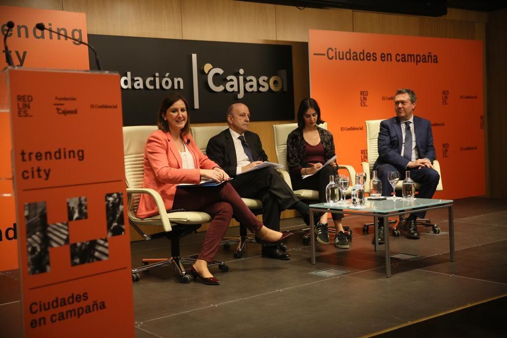 Mesa redonda 'El reto de ganar, la obligación de gobernar', con Juan Espadas, Rita Maestre y María José Catalá, moderados por José Antonio Zarzalejos en Trending City