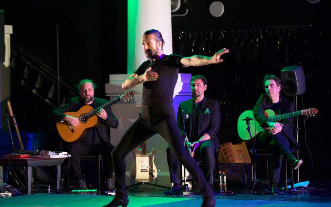 Andrés Marín estrena 'Bacterias' en los 'Jueves Flamencos' de la Fundación Cajasol en Sevilla