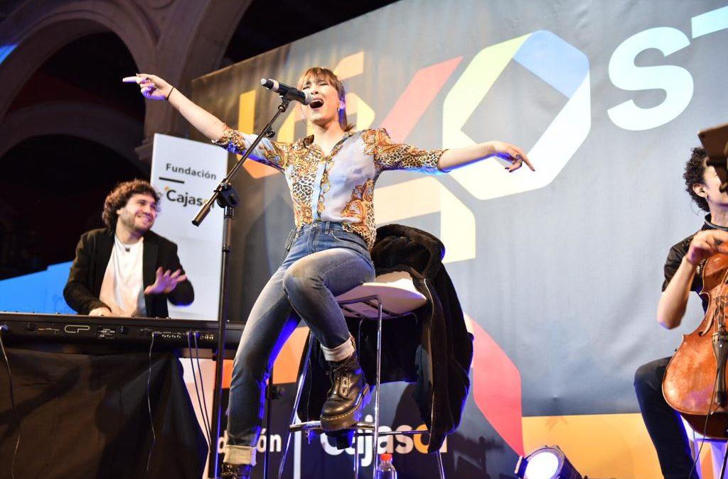 Stage 40 en la Fundación Cajasol: Concierto de Aitana en Sevilla