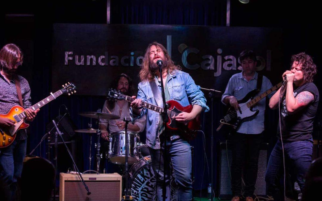'Los Jueves en la Cuarta': La banda The Milkyway Express, rock & roll de calidad en Huelva