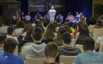 Ana Pancho Sierra y Antonio Herrera Becerra, ganadores del primer concurso de oratoria escolar en la provincia de Huelva