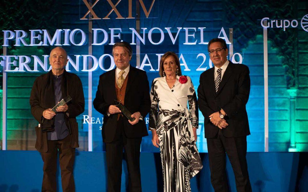Felipe Benítez Reyes y Alfonso Alegre Heitzmann reciben los premios Manuel Alvar y Antonio Domínguez Ortiz 2019
