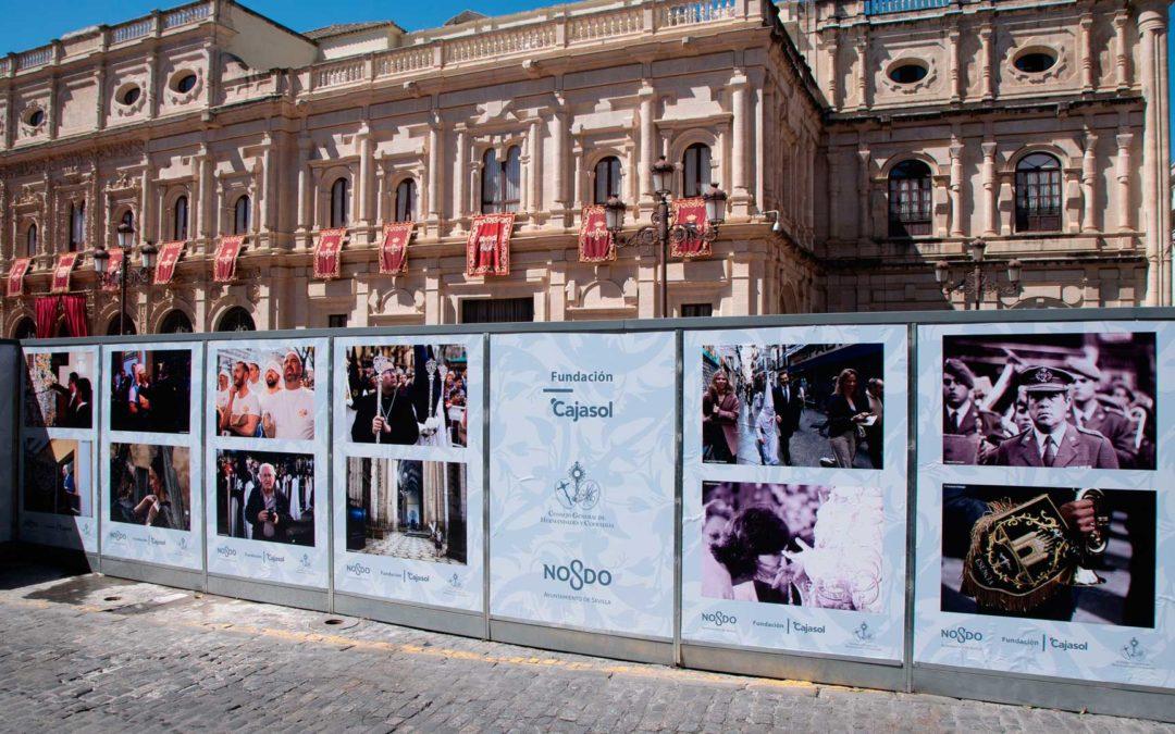 EN DIRECTO desde la Plaza San Francisco: La Fundación Cajasol, muy presente en la Semana Santa de Sevilla