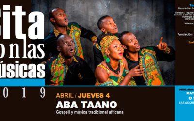 La voz de África con Aba Taano en el ciclo Cita con las Músicas