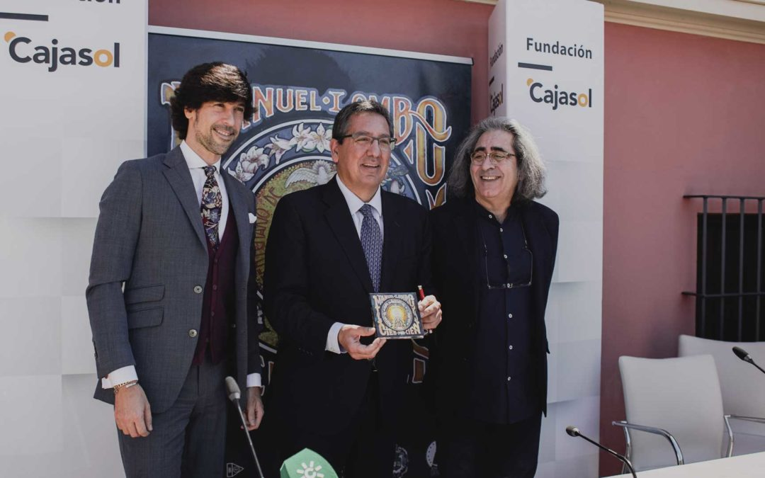 Manuel Lombo presenta 'Rocío, cien por cien'. Doble actuación a finales de mayo en Fundación Cajasol