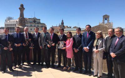 Presentación del libro 'Pasión. Historia y patrimonio artístico' en la Fundación Cajasol