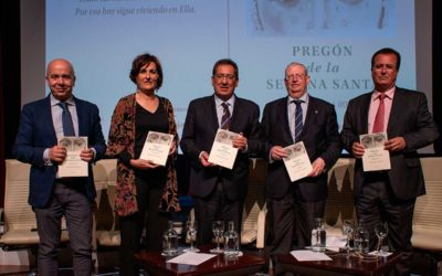 Presentación del libro del Pregón de Semana Santa de Sevilla 2019 a cargo de Charo Padilla