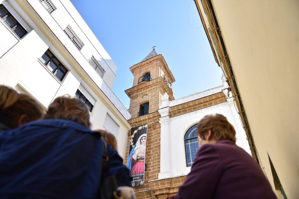 Restauración de las campanas de la Iglesia de La Palma en Cádiz
