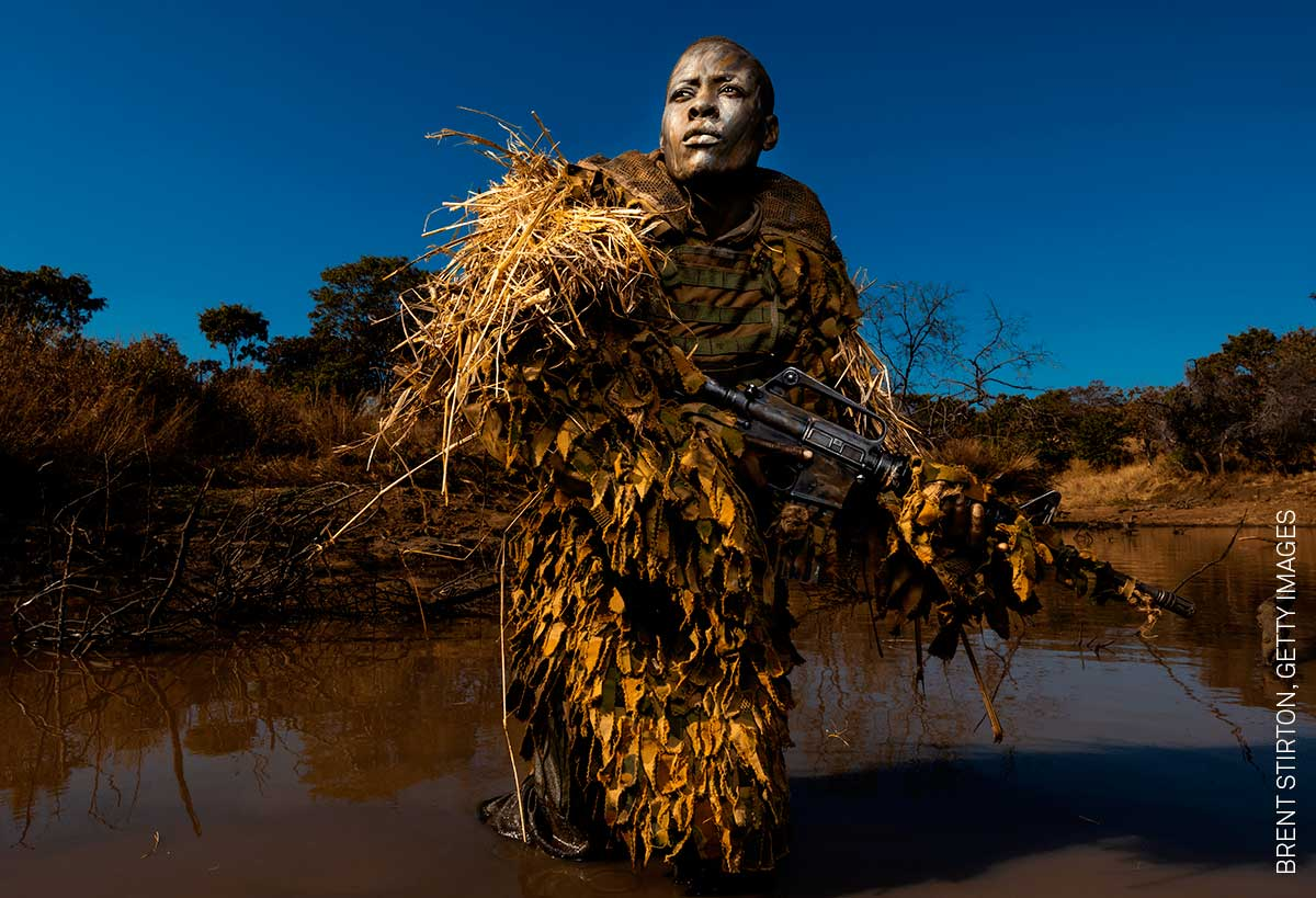 Foto de Brent Stirton, finalista en el World Press Photo 2019
