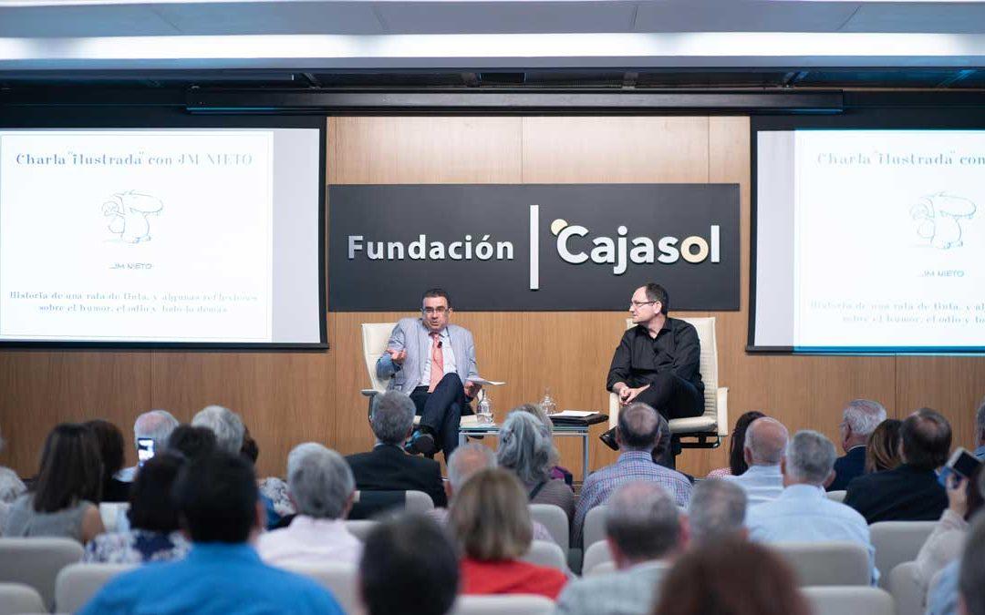 El humorista gráfico José María Nieto, protagonista en el Aula de Cultura de ABC de Sevilla