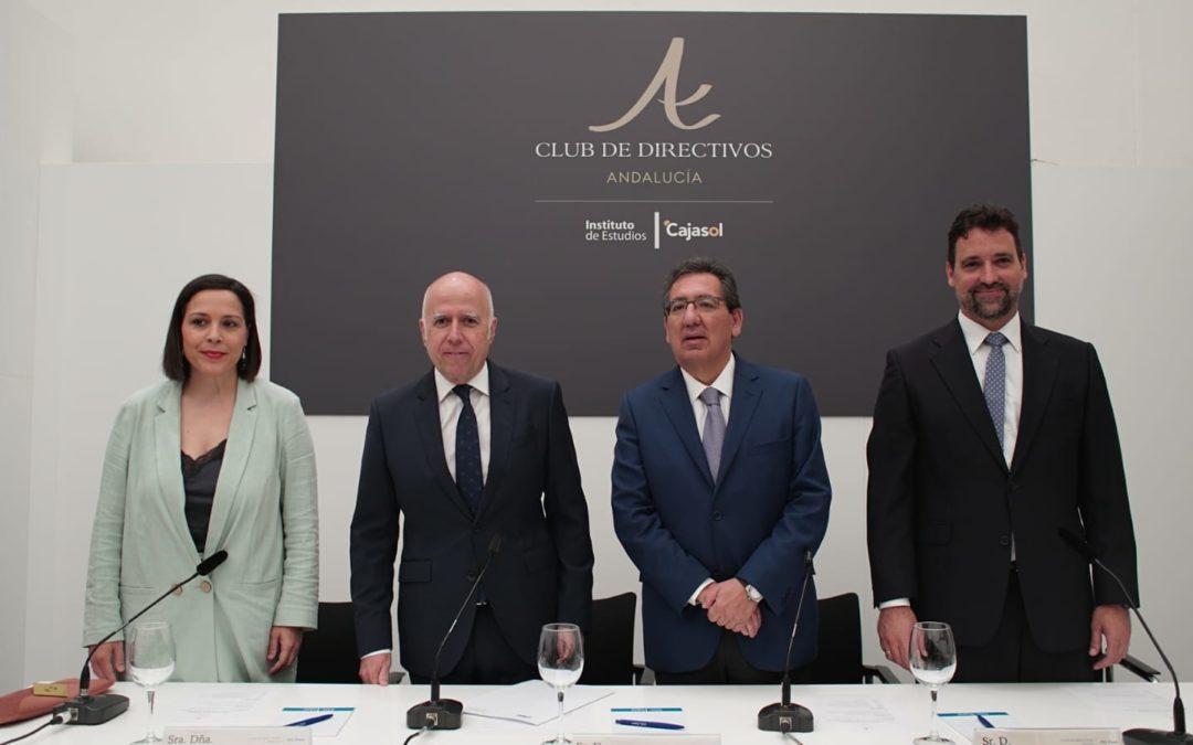 El presidente de KPMG España, Hilario Albarracín, protagonista del Club de Directivos Andalucía en Sevilla