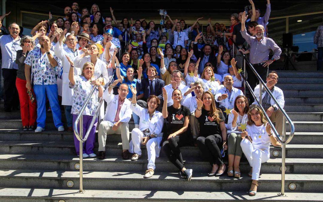 Día Nacional del Niño Hospitalizado: Besos y sonrisas inundan 200 hospitales de toda España