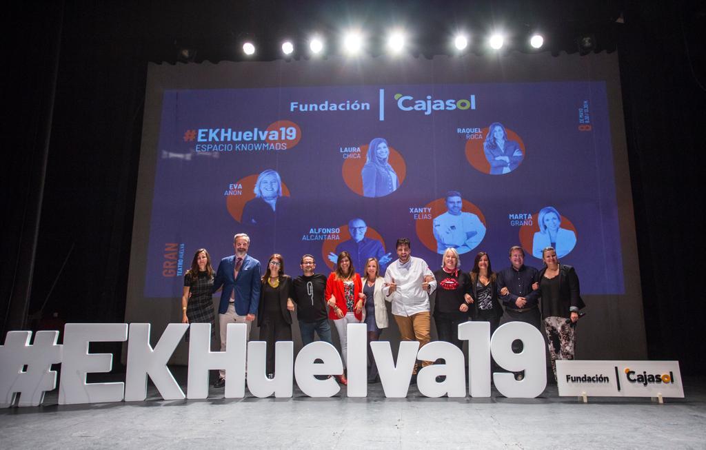 El espíritu de los 'knowmads' invade Huelva de la mano de la Fundación Cajasol