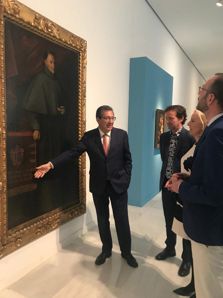 Inauguración de la exposición 'El Barroco Colección Fundación Cajasol' en Granada