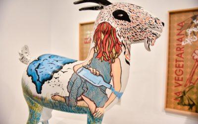 Las cabras payoyas de Cecilio Chaves, Gloria Garrastazul y Arsenio Rodríguez, en Cádiz hasta el 16 de junio