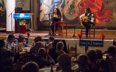 María del Carmen González y Almudena Domínguez, ganadoras del V Concurso Nacional de Arte Flamenco de Huelva 'Colón Flamenco'