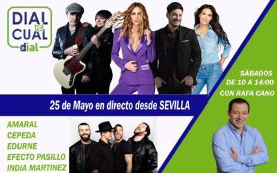 Agotadas las invitaciones para el programa 'Dial Tal Cual' en Sevilla