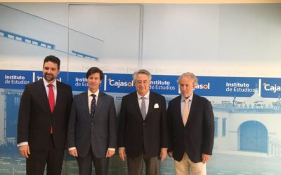 Javier Targhetta, en el Club de Directivos Andalucía