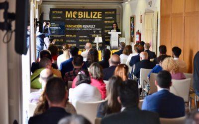 Presentación de 'Mobilize', de la Fundación Renaultpara la Inclusión y la Movilidad Sostenible, en Cádiz