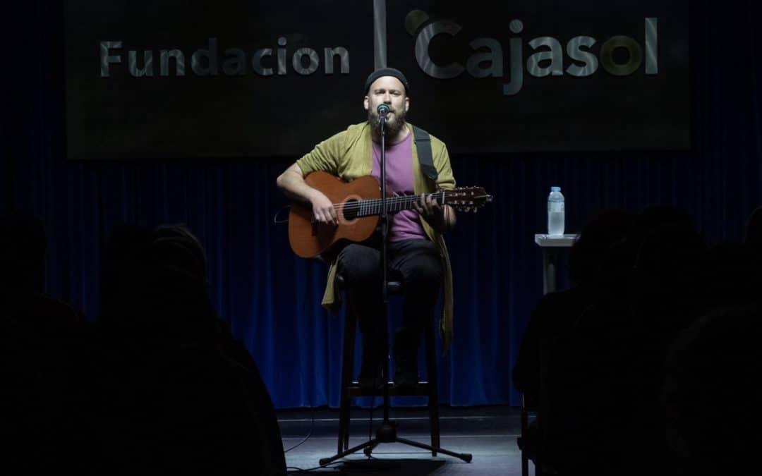 Mario Díaz presenta 'Infinito' en 'Los Jueves en la Cuarta' de la Fundación Cajasol en Huelva