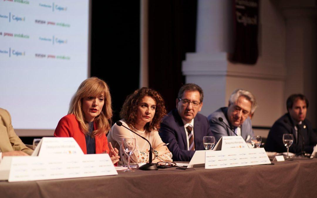 Desayuno Informativo de Europa Press con Carmen Castilla en la Fundación Cajasol