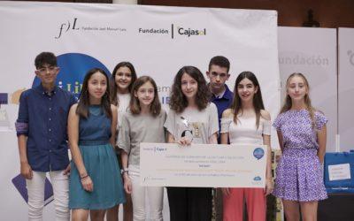 Entrega de premios del VI concurso 'Mi libro preferido' en la Fundación Cajasol