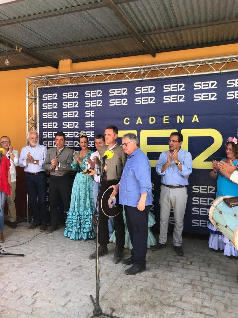 Entrega de Premio Tamborilero 2019 en la Hermandad del Rocío de Rociana