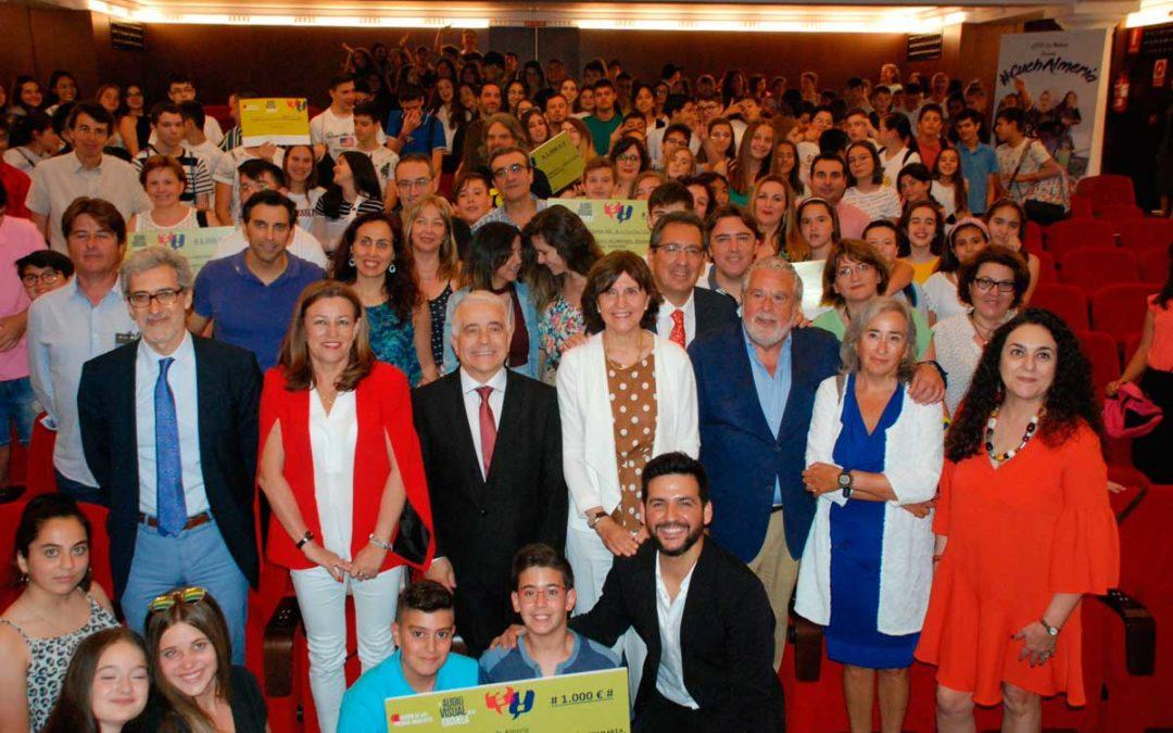 Entrega de los V Premios 'El Audiovisual en la Escuela' en Sevilla con vídeos sobre adicción a nuevas tecnologías y redes sociales