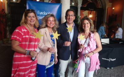 Fantástica acogida del mercadillo de la Fundación Pequeño Deseo en Sevilla