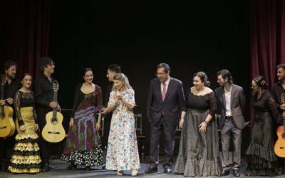 Jóvenes Flamencos Cajasol, la demostración del talento en la Fundación Cristina Heeren