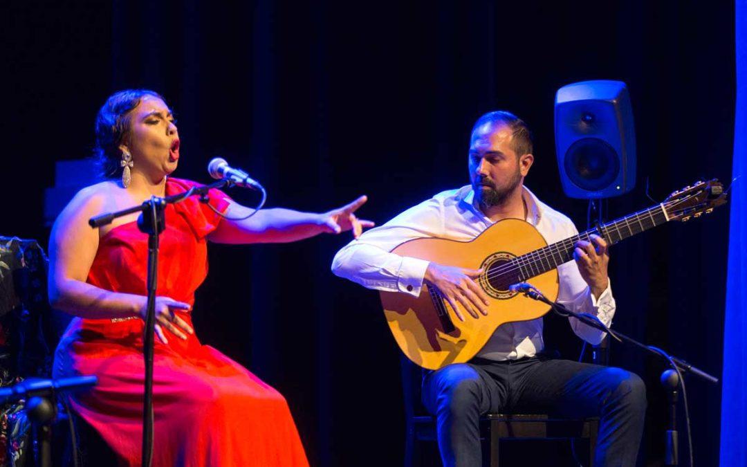 María Terremoto y Samuel Serrano, 'Juventud emergente' en los Jueves Flamencos