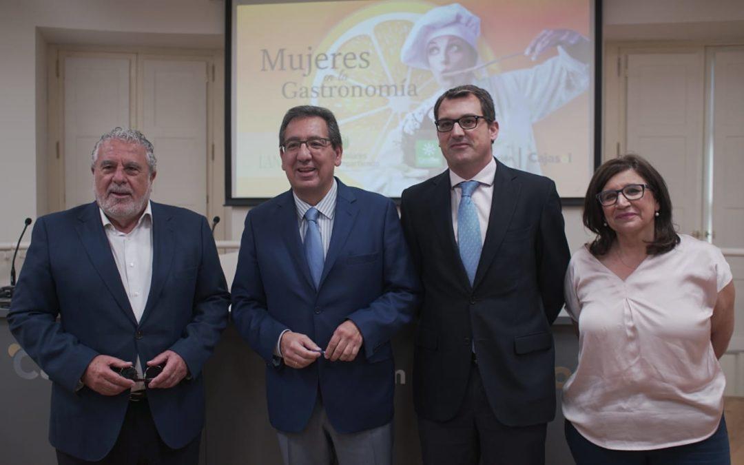 'Mujeres en la Gastronomía': Andaluces Compartiendo sigue creciendo de la mano de Canal Sur, Landaluz y la Fundación Cajasol