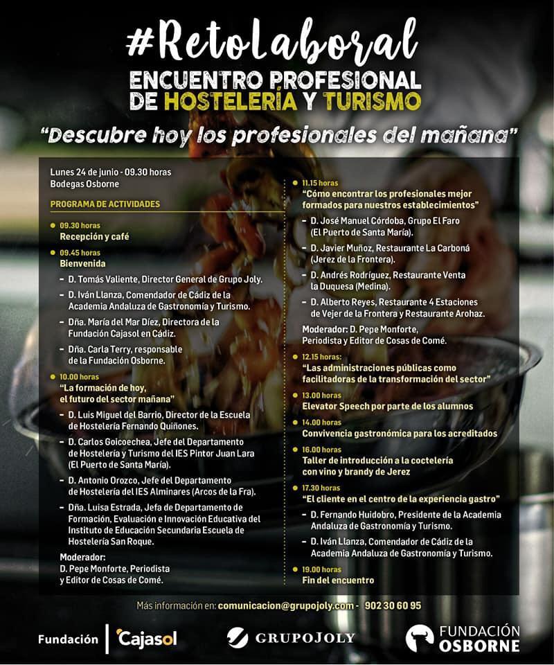 Programa previsto en el #RetoLaboral organizado por Fundación Osborne y Fundación Cajasol