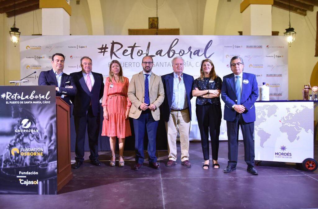 El #RetoLaboral de Fundación Osborne y Fundación en Cádiz, todo un éxito