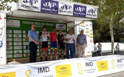 López Mayo, ganador de la XX Clásica Velá de Triana de Ciclismo