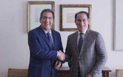 La Fundación Cajasol y la Confederación de Empresarios de Andalucía, aliadas para impulsar el desarrollo socioeconómico