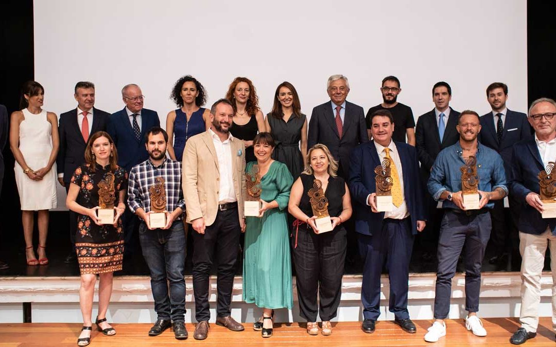 Entrega de los Premios Web 2019 ABC de Sevilla en la Fundación Cajasol