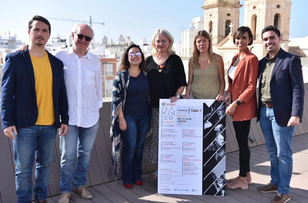 El III Estival Flamenco Cádiz, del 19 al 24 de agosto