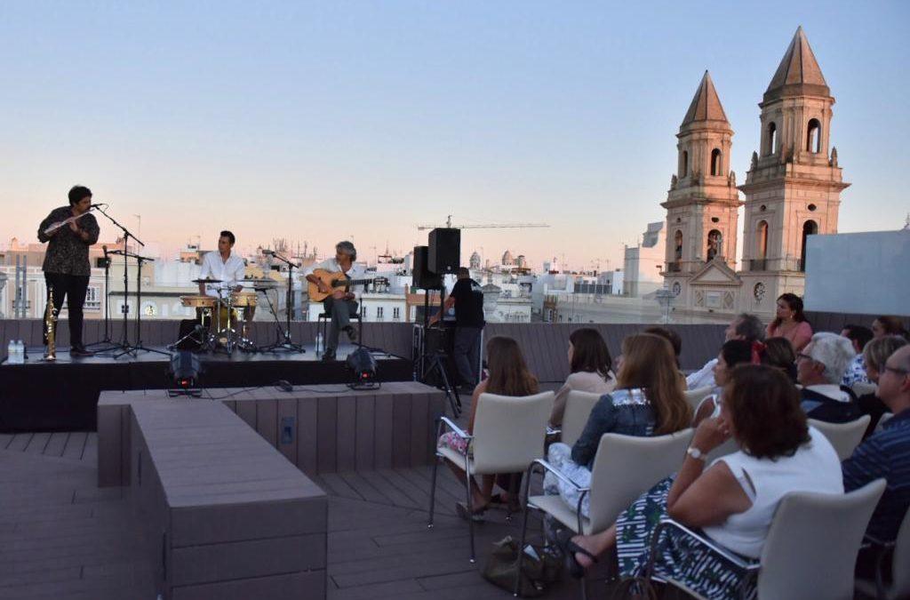 Emocionante actuación de Diego Villegas en el estreno del III Estival Flamenco Cádiz