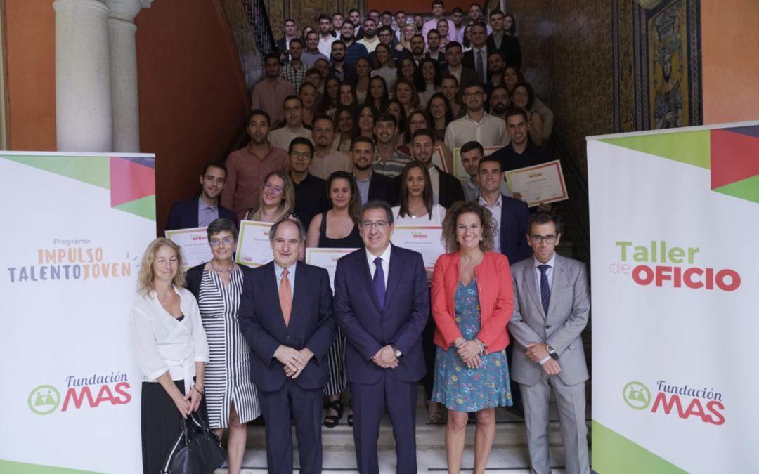 Fundación MAS premia el 'Talento de aquí' con las Becas Formativas para el Empleo 2019