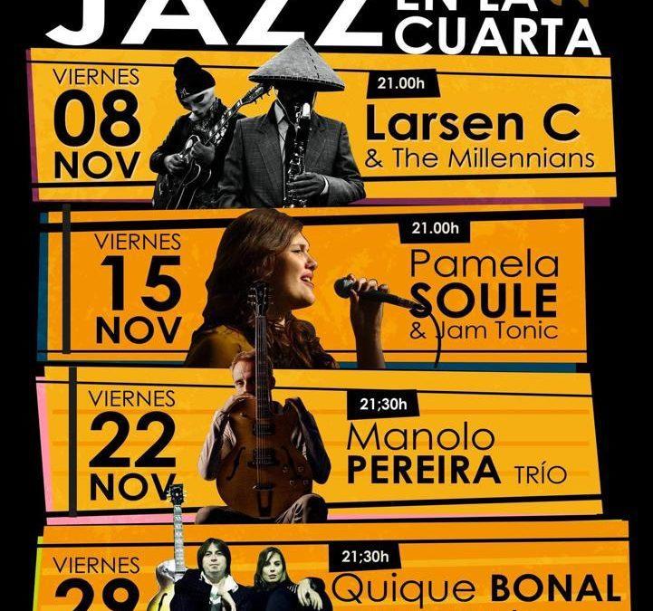 Los viernes de noviembre, 'Jazz en la Cuarta' con la Fundación Cajasol en Huelva