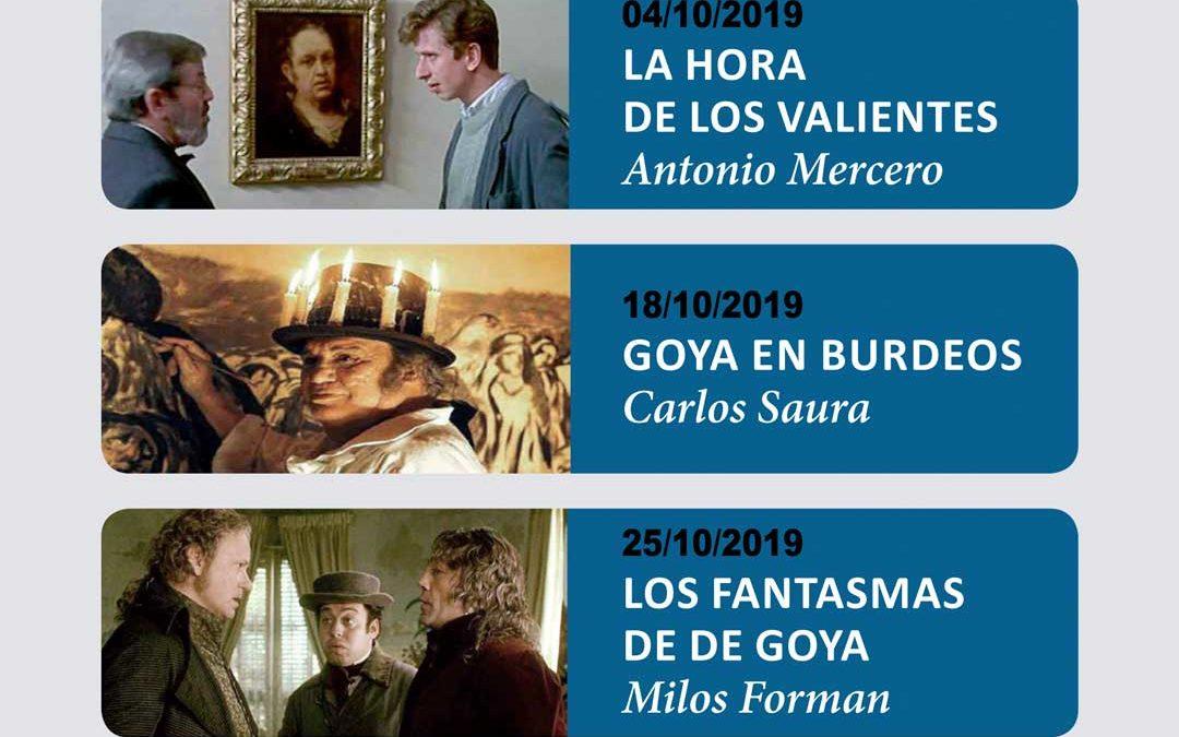 El ciclo de cine de la Fundación Cajasol inicia el curso con 'Francisco de Goya: cinematografía de un pintor'