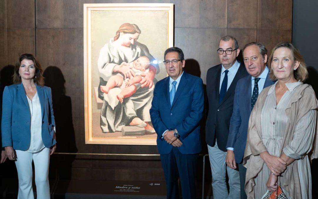 La obra 'Maternidad', de Picasso, en el Hospital de los Venerables de Sevilla
