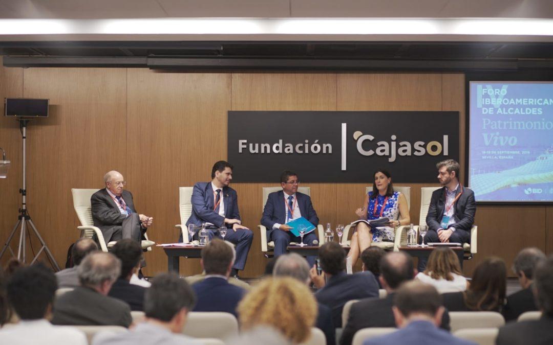 IV Foro Iberoamericano de Alcaldes en la Fundación Cajasol: El patrimonio como eje estratégico de la ciudad