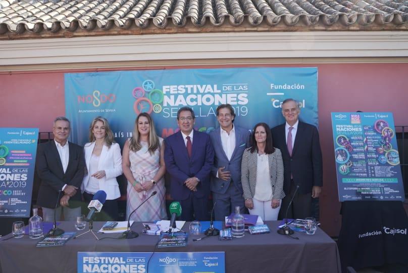 XXVI Festival de las Naciones de Sevilla: ¡Siente el Mundo!