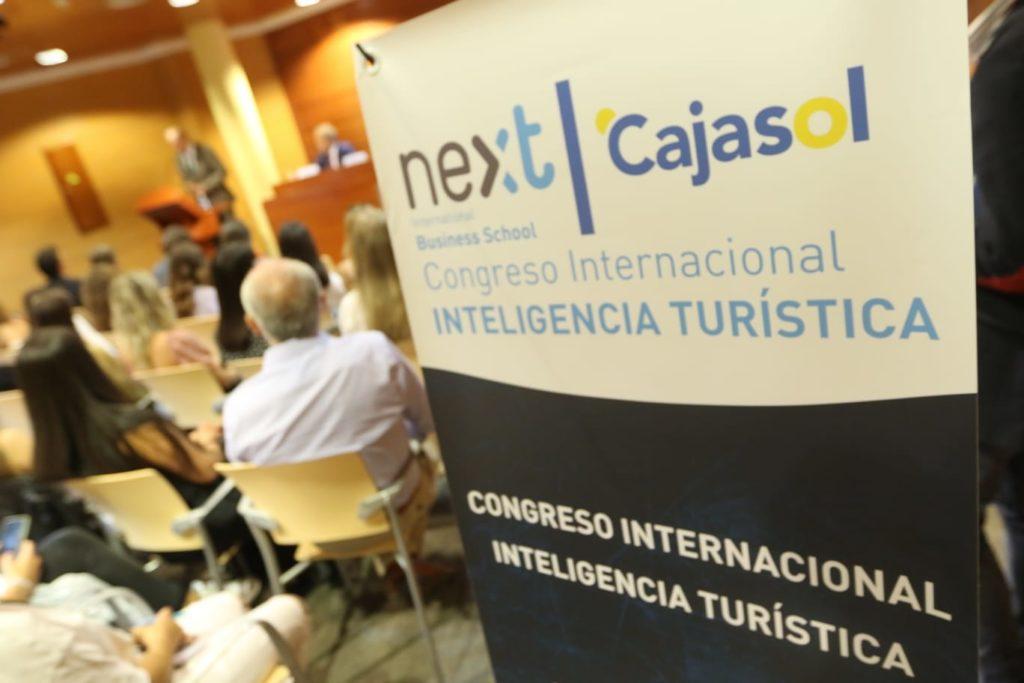 Cartel del IV Congreso de Inteligencia Turística en Málaga